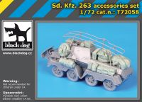 T72058 1/72 Sd Kfz 263 accessories set
