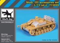 T72059 1/72 Stug III accessories set