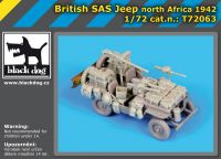 T72063 1/72 British SAS jeep North Africa 1942