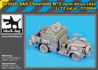 T72064 1/72 British SAS chevrolet N