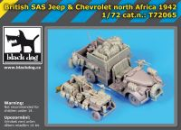 T72065 1/72 British SAS jeep - chevrolet SAS