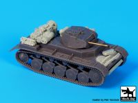 T72067 1/72 Pz Kpfw II ausf C accessories set Blackdog