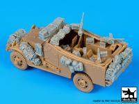 T72074 1/72 M 3 Scout car accessories set Blackdog