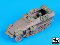 T72077 1/72 Sd.Kfz.251 accessories set Blackdog
