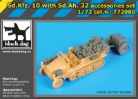 T72080 1/72 Sd.Kfz 10 with Sd.Ah.32 accessories set
