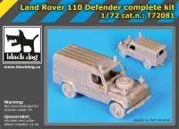 T72081 1/72 Land Rover 110 Defender complete kit