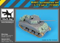 T72085 1/72 M4A1 accessories set Blackdog