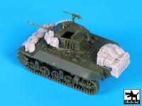 T72087 1/72 M3A3 accessories set Blackdog