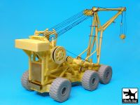 T72092 1/72 Aircraft crash handling and salvage crane complete kit Blackdog