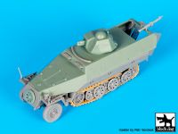 T72093 1/72 Sd.Kfz.251 ausf D with Hotchkiss turret conv.set Blackdog