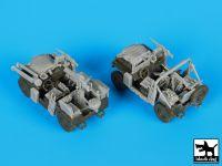 T72094 1/72 IDF M-151 accessories set Blackdog