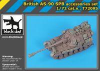 T72095 1/72 British AS-90 SPB accessories set