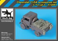 T72097 1/72 Chevrolet C15A accessories set