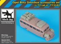 T72102 1/72 Opel Blitz Omnibus accessories set