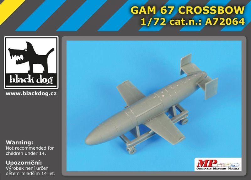 A72064 1/72 GAM 67 Crossbow Blackdog