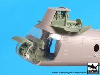A72067 1/72 Ch-46 D front engine+cocpit Blackdog