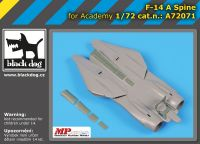 A72071 1/72 F-14 A spine Blackdog