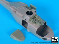 A72077 1/72 SH 60 B Sea Hawk engine Blackdog