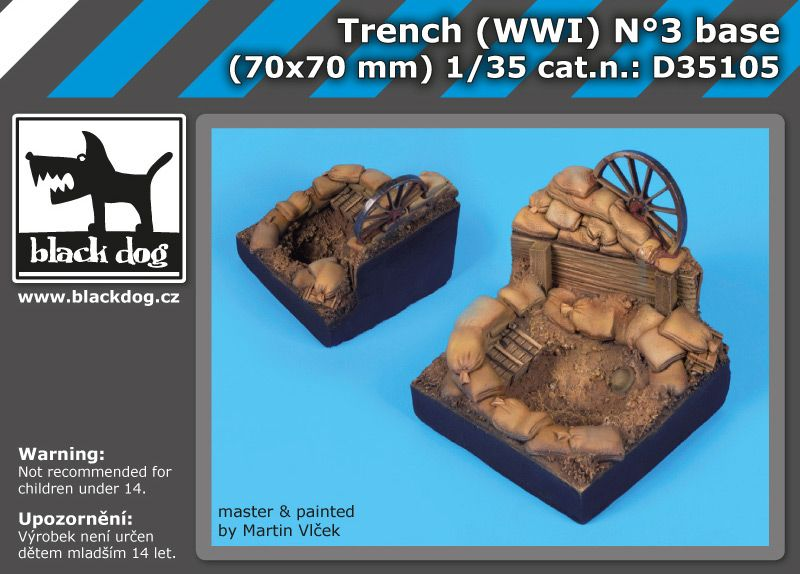 D35105 1/35 Trench WW I N°3 Blackdog