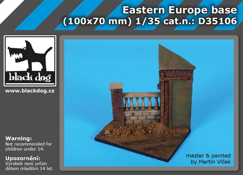 D35106 1/35 Eastern Europe base Blackdog