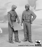 F32076 1/32 US NAVY pilots 1940-45 set N°1 Blackdog