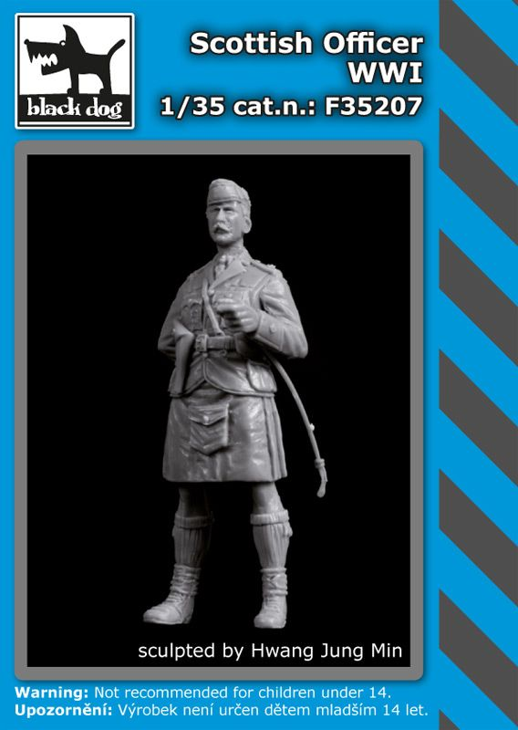 F35207 1/35 Scottish officer WW I Blackdog