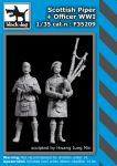 F35209 1/35 Scottish piper+officer  WW I