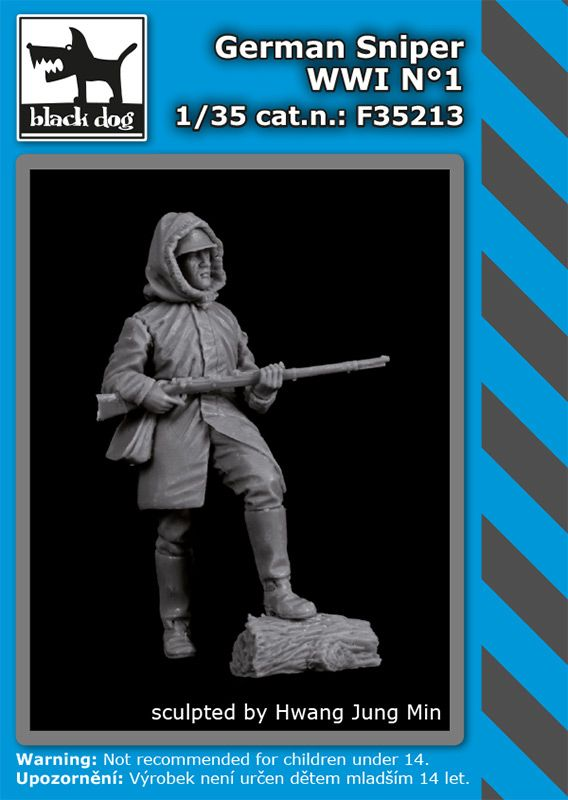 F35213 1/35 German sniper WW I N° 1 Blackdog