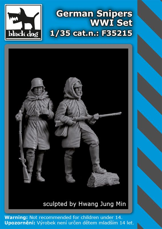 F35215 1/35 German snipers WW I set Blackdog