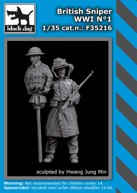 F35216 1/35 British sniper WW I N°1 Blackdog