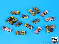 S350001 1/350 Deck tractors accessories set Blackdog
