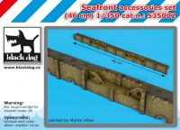 S350002 1/350 Seafront accessories set