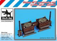S350004 1/350 House N°2