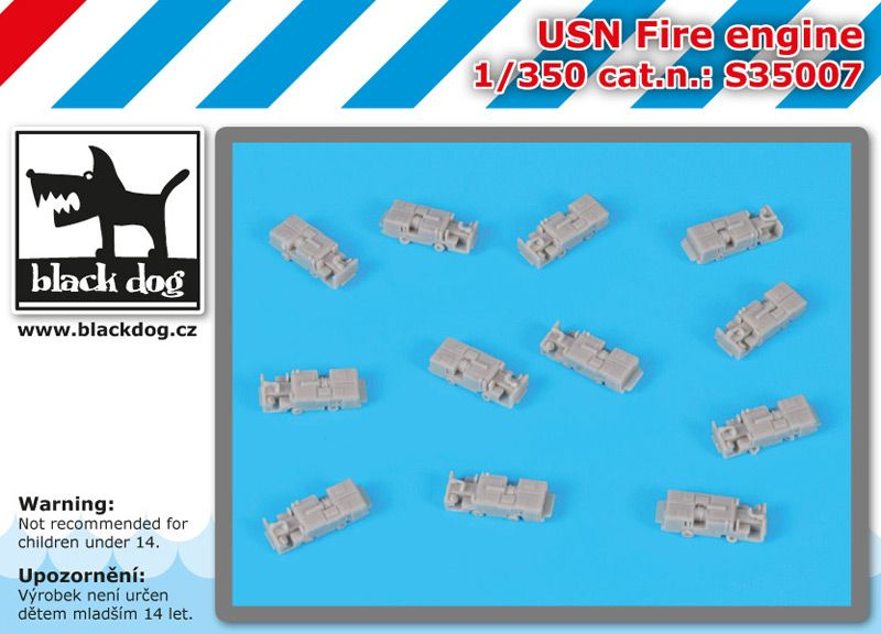 S350007 1350 USN Fire engine Blackdog