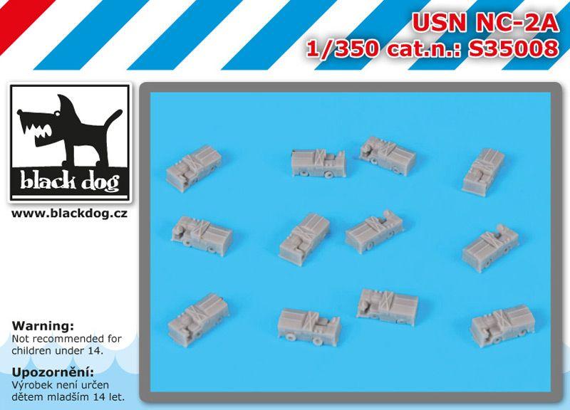 S350008 1350 USN NC-2A Blackdog