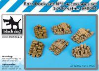 S700001 1/700 Port dock set N°1 Blackdog