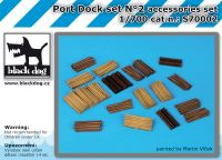 S700002 1/700 Port dock set N°2 Blackdog