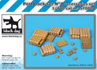 S700004 1/700 Port dock set N°4 Blackdog