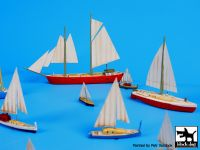 S700006 1/700 Sailing boats Blackdog