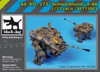 SFT72003 Sd.Kf3.173 Schweibhund X-66 Blackdog