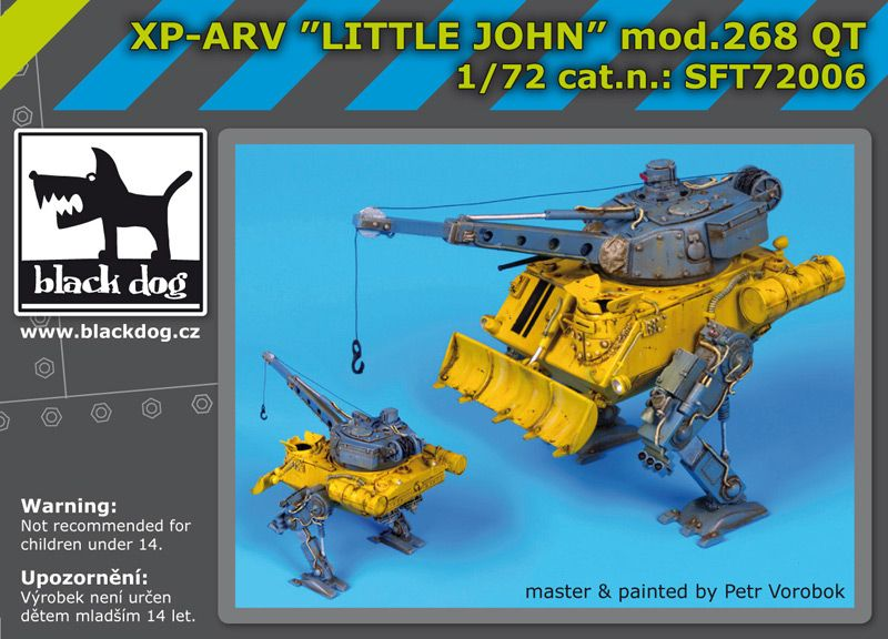 SFT72006 XP-ARV Litle John Blackdog