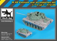T72108 1/72 M 48 Vietnam war accessories set