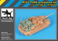 T72110 1/72 M1A2 TUSK accessories set