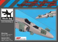 A48084 1/48 Kawasaki T 4 electronics Blackdog