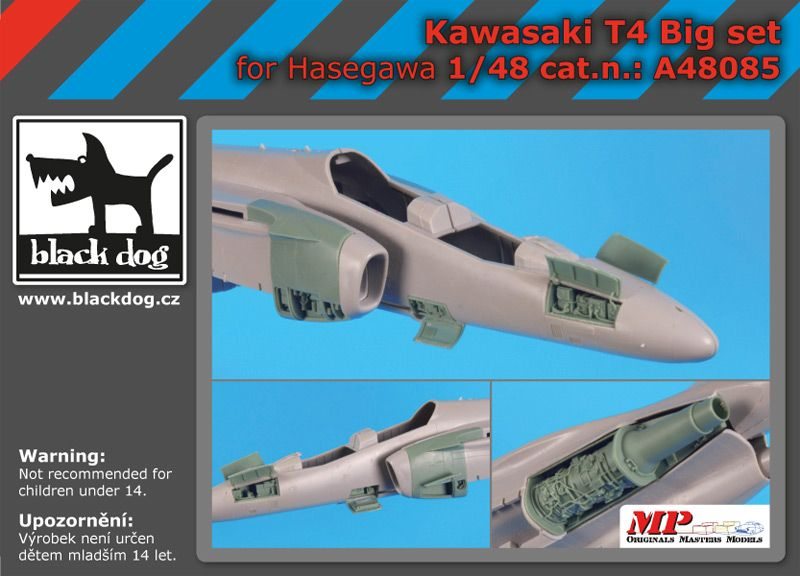 A48085 1/48 Kawasaki T 4 big set