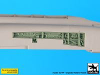 A48087 1/48 F4J Phantom side electronics Blackdog
