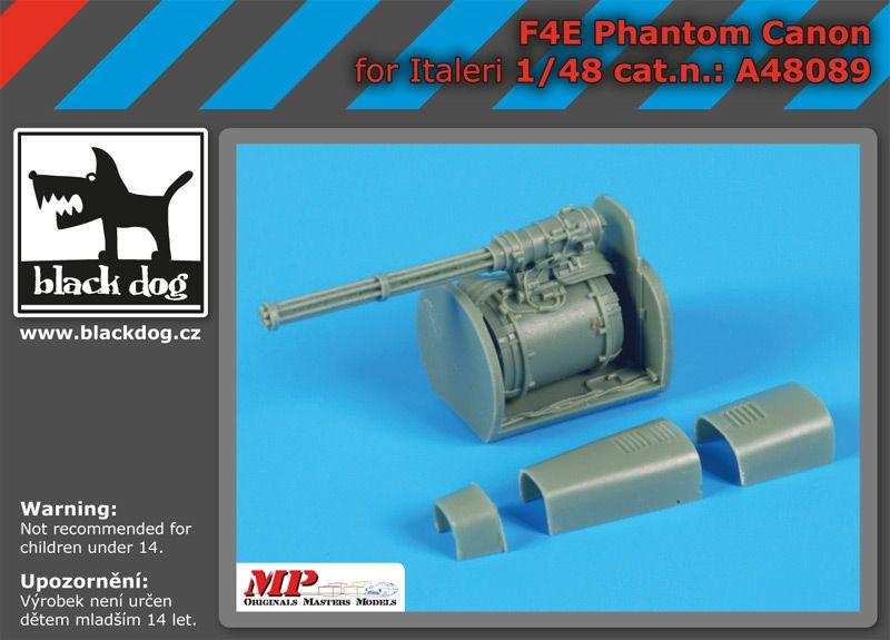 A48089 1/48 F4E Phantom canon Blackdog