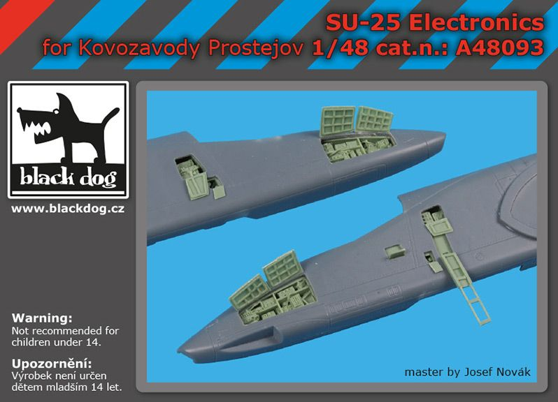 A48093 1/48 SU -25 electronics Blackdog