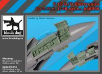 A48096 1/48 F-15 B/D electronics Blackdog