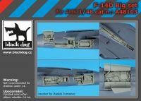 A48103 1/48 F-14 D big set